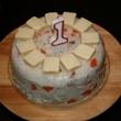 Perličky první dort