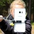 Podobnou radost jako dorty umí udělat i selfie tyčka :-)