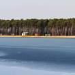 Místo křtu - jezero Lhota